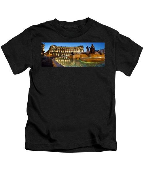 Piazza Della Repubblica Kids T-Shirt