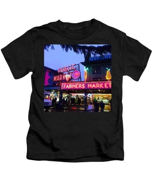 Pike Place Market Kids T-Shirt
