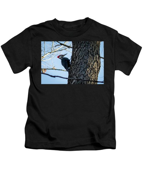 Pileated Woodpecker  Kids T-Shirt