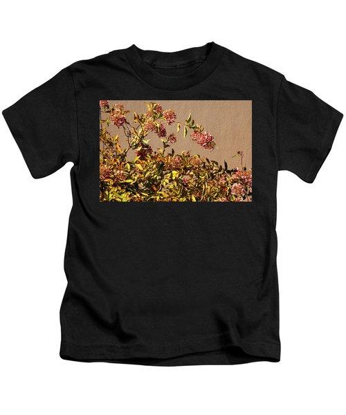 Pink Autumn Kids T-Shirt