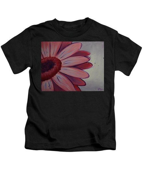 Pink Daisy Kids T-Shirt
