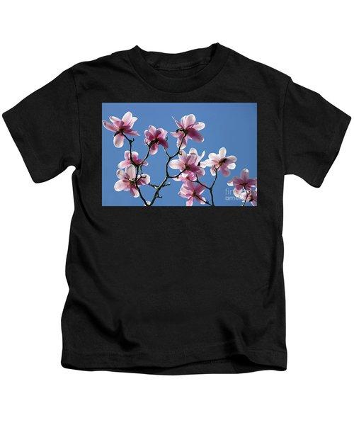 Pink Magnolias  Kids T-Shirt