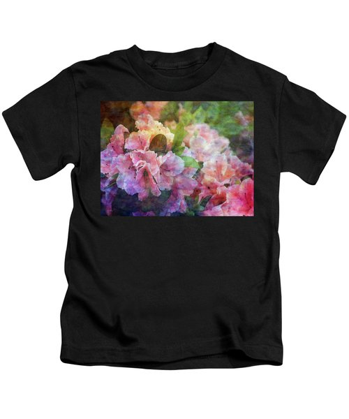 Pink With White Frills 1503 Idp_3 Kids T-Shirt
