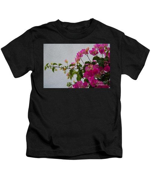 Pinks Portrait Kids T-Shirt
