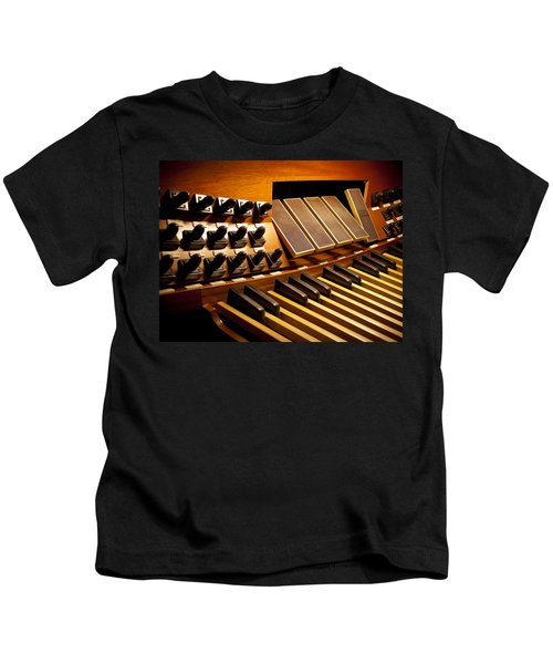 Pipe Organ Pedals Kids T-Shirt