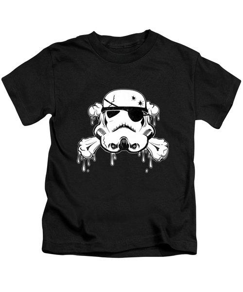 Pirate Trooper Kids T-Shirt