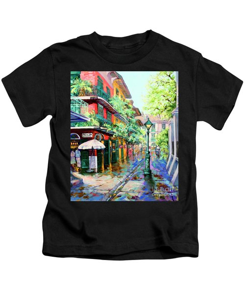 Pirates Alley - French Quarter Alley Kids T-Shirt