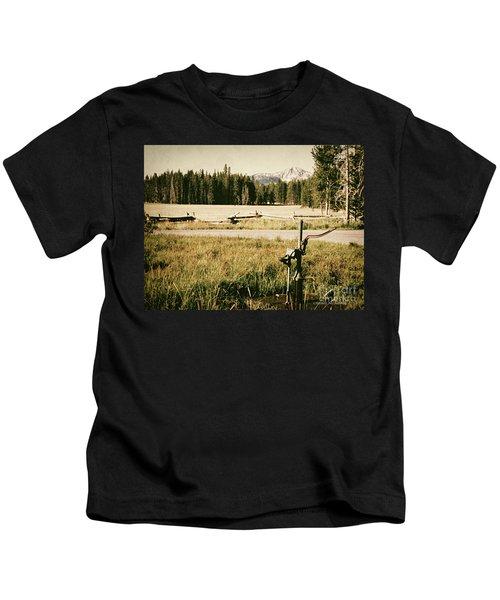 Pitcher Pump Kids T-Shirt