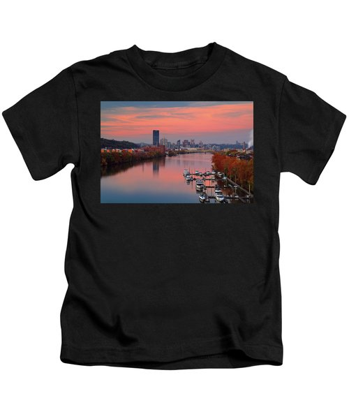 Pittsburgh 31st Street Bridge  Kids T-Shirt