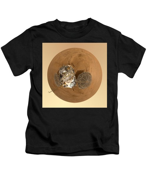 Planet Mars Via Phoenix Mars Lander Kids T-Shirt