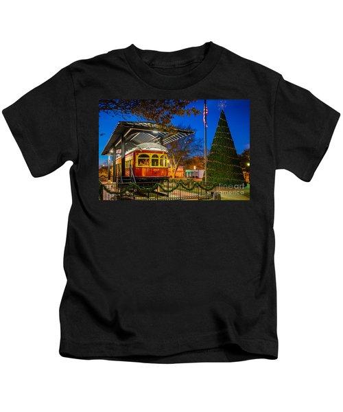 Plano Trolley Car Kids T-Shirt