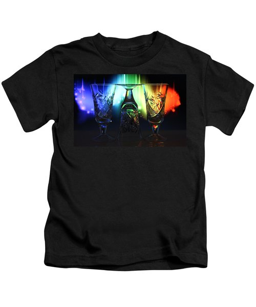 Play Of Glass And Colors Kids T-Shirt