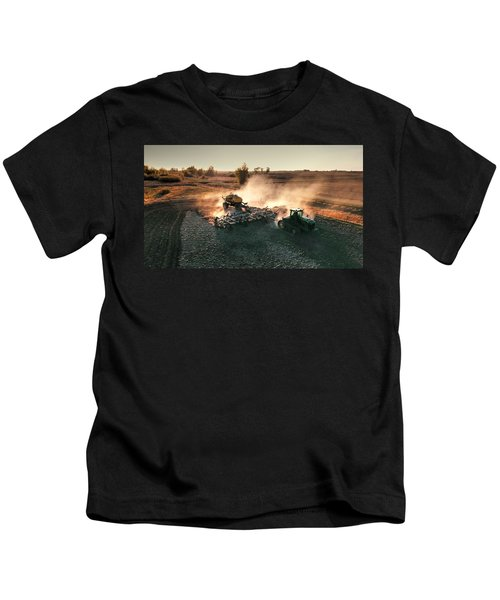 Plow The Fields And Scatter  Kids T-Shirt