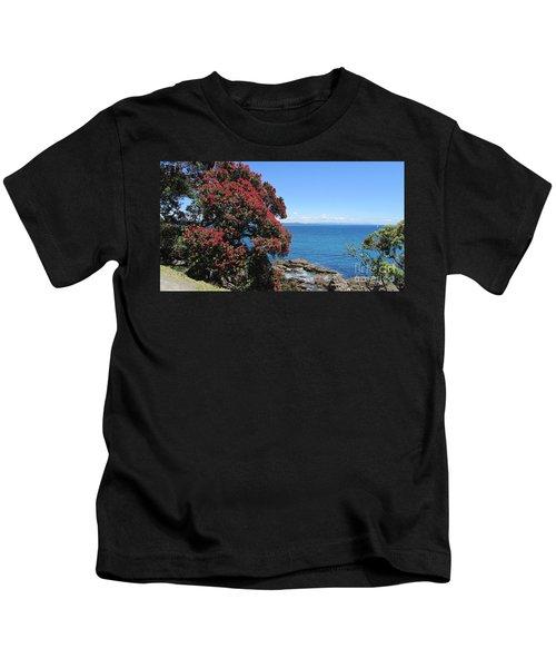 Pohutukawa Tree Kids T-Shirt