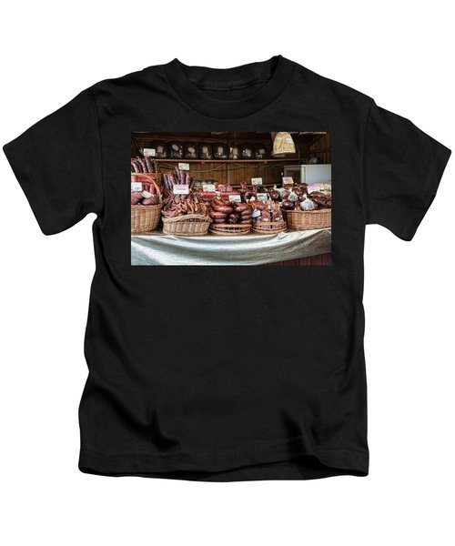 Poland Meat Market Kids T-Shirt