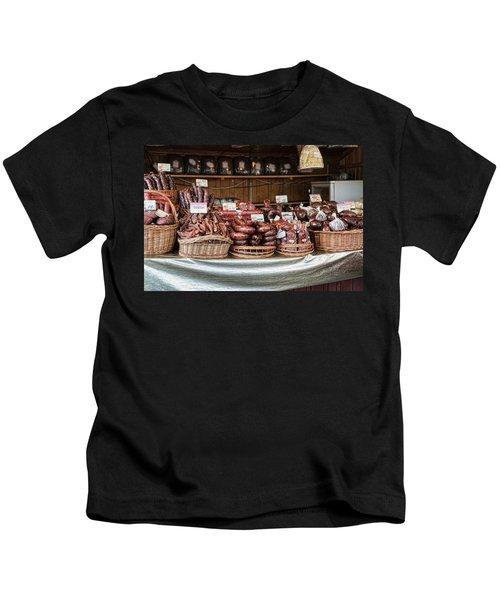 Poland Meat Market Kids T-Shirt