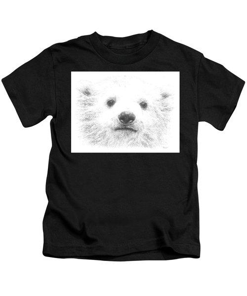 Polar Bear Cub Kids T-Shirt