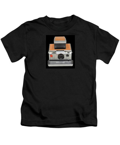 Polaroid Sx-70 Land Camera Kids T-Shirt