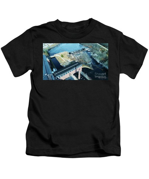 Ponemah Mill And Dam Kids T-Shirt