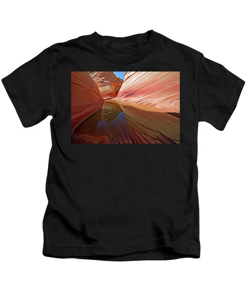 Pool At The Wave Kids T-Shirt