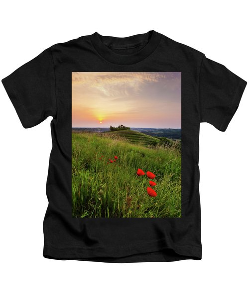 Poppies Burns Kids T-Shirt
