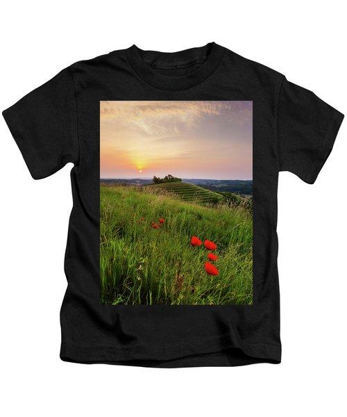 Poppies Burns Kids T-Shirt
