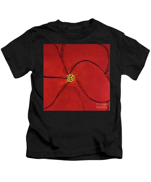 Poppy Dots Kids T-Shirt