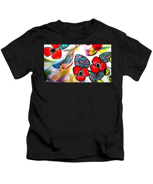 Poppy Fun Kids T-Shirt
