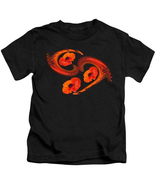 Poppy Love Kids T-Shirt