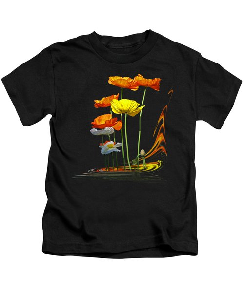 Poppy Pirouette Vertical Kids T-Shirt