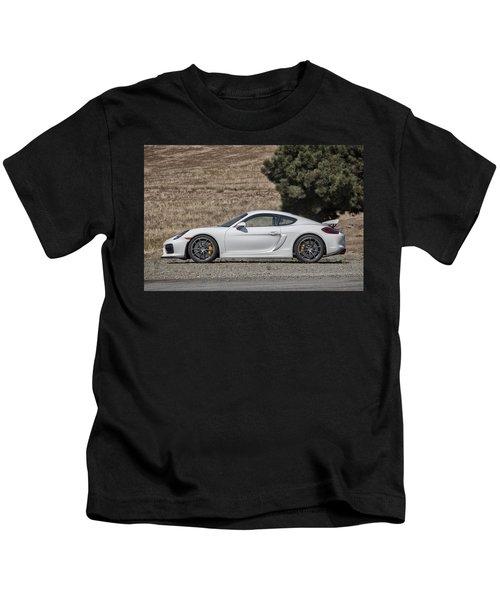 Porsche Cayman Gt4 Side Profile Kids T-Shirt