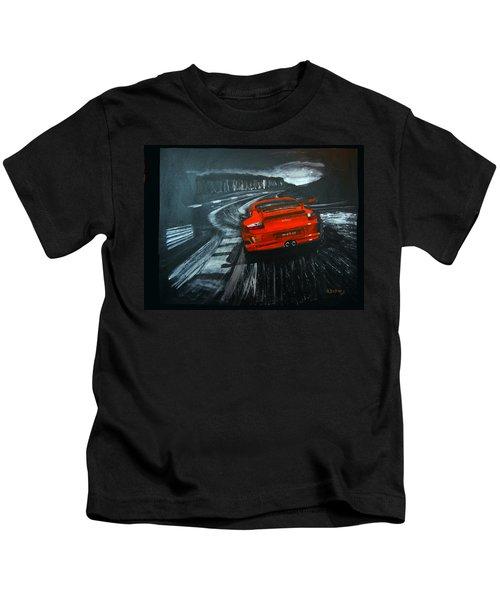 Porsche Gt3 Le Mans Kids T-Shirt