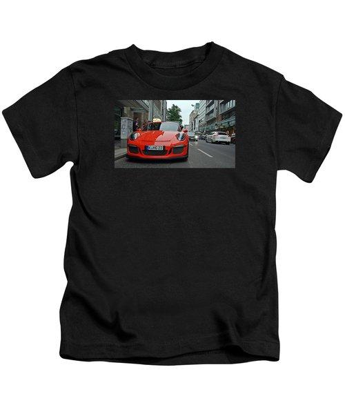Porsche Gt3 Rs Kids T-Shirt