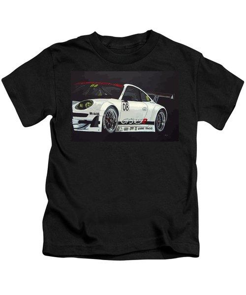 Porsche Gt3 Rsr Kids T-Shirt