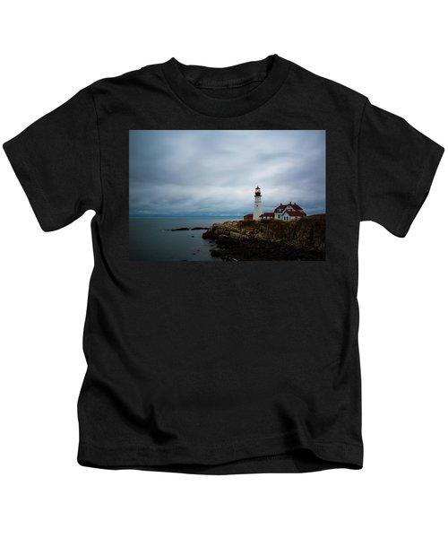 Portland Head Light 2 Kids T-Shirt