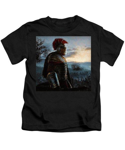 Portrait Of A Roman Legionary - 34 Kids T-Shirt