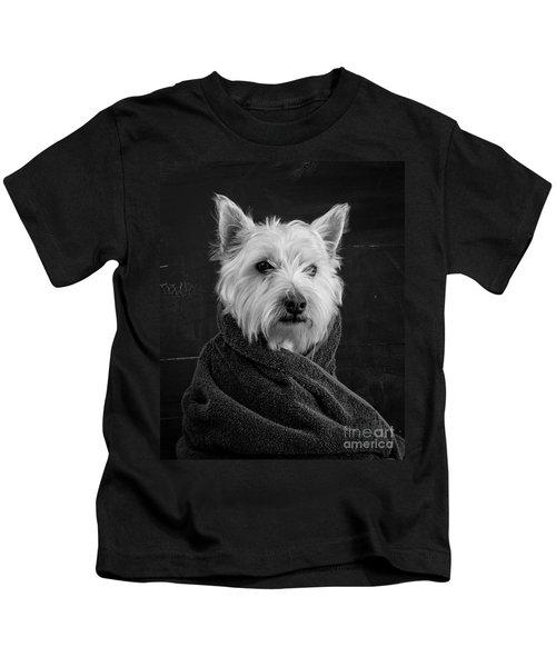 Portrait Of A Westie Dog Kids T-Shirt
