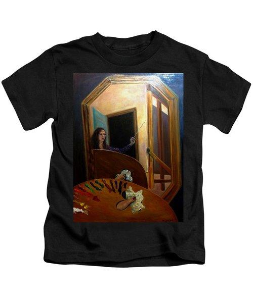 Portrait Of The Artist Kids T-Shirt