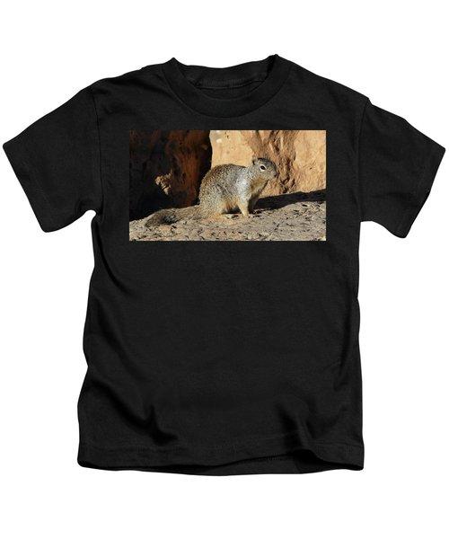 Posing Squirrel Kids T-Shirt
