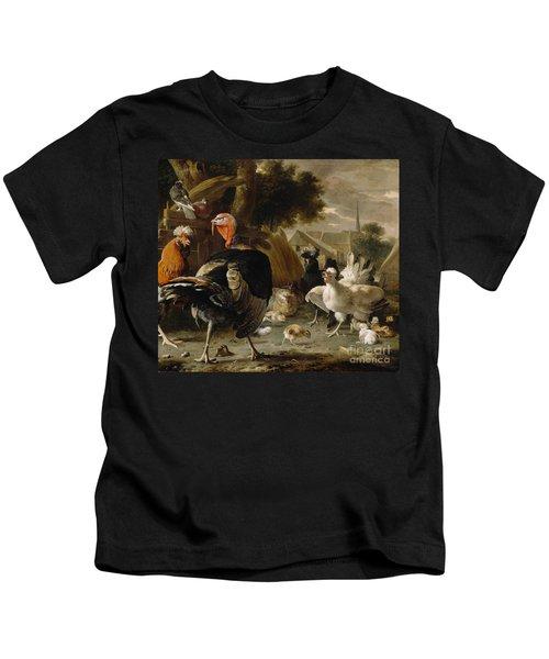 Poultry Yard Kids T-Shirt