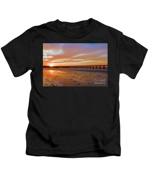 Powder Point Bridge Duxbury Kids T-Shirt