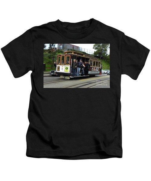 Powell And Market Street Trolley Kids T-Shirt