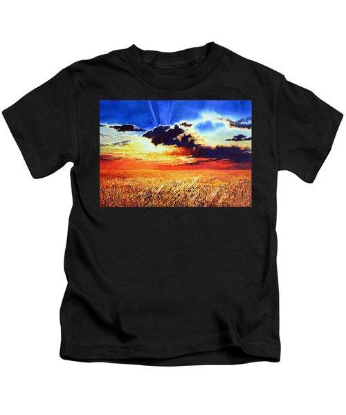 Prairie Gold Kids T-Shirt