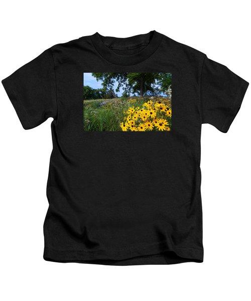 Prairie Wildflowers Kids T-Shirt