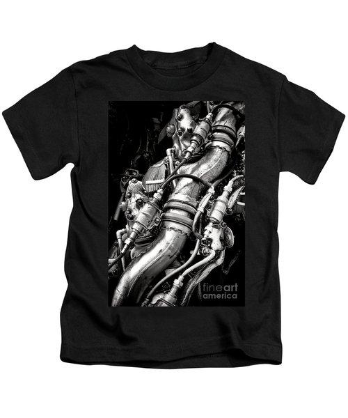 Pratt And Whitney Engine Kids T-Shirt