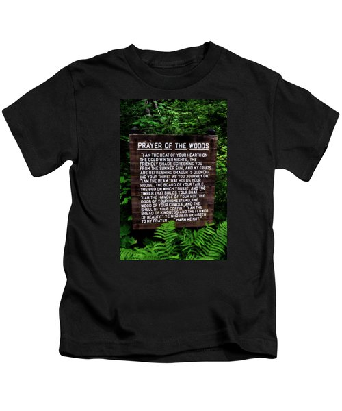 Prayer Of The Woods Kids T-Shirt