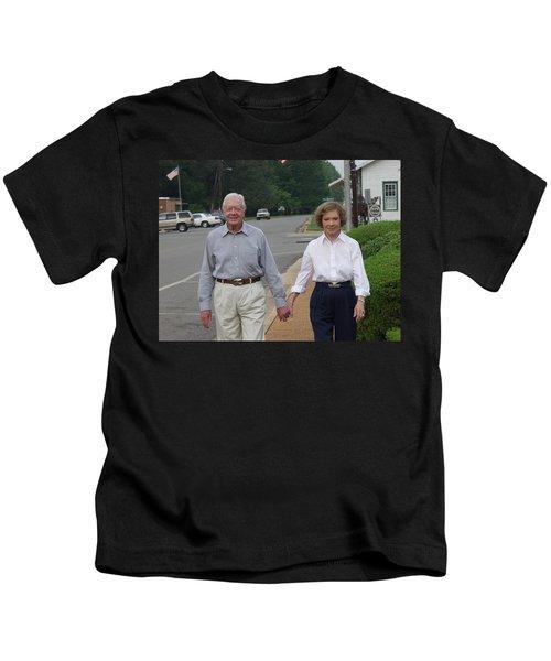 President And Mrs. Jimmy Carter Kids T-Shirt