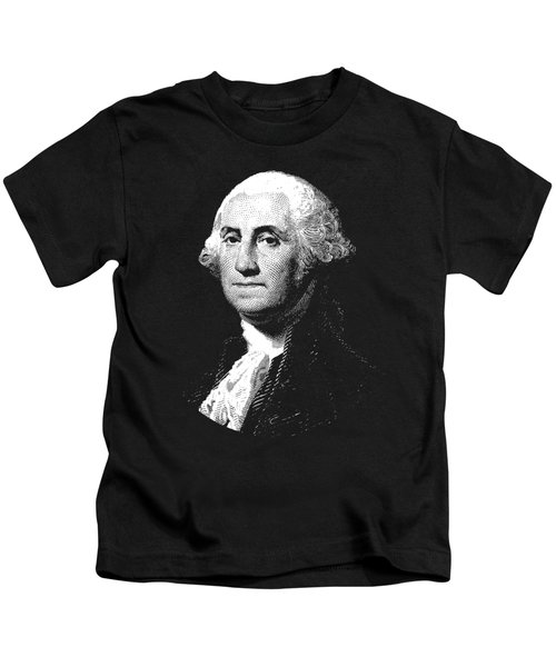 President George Washington Graphic  Kids T-Shirt by War Is Hell Store