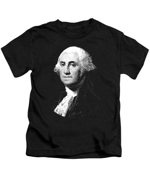 President George Washington Graphic  Kids T-Shirt