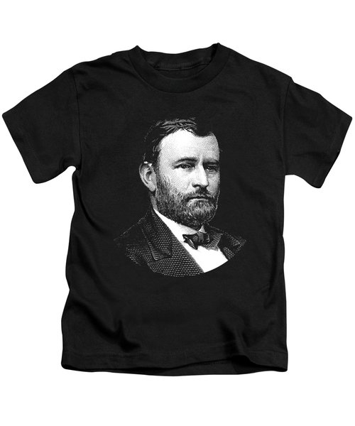 President Ulysses S. Grant Graphic Three Kids T-Shirt